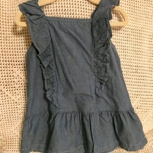 NWT, Carter's 5t ruffle sleeve top!